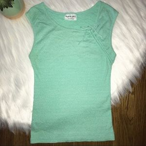 Michael Stars Mint Green OSFM Top